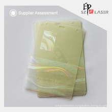 Transparent Custom Logo Heat Sealed Holographic Laminate pouches
